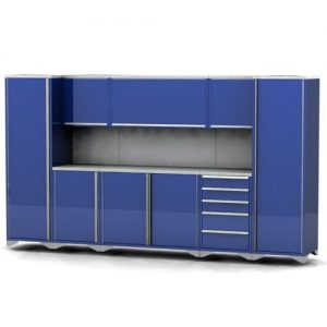 Garage furniture assembly example