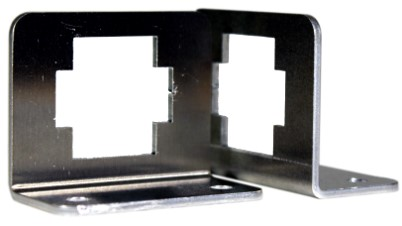 Precision aluminium sheet metal brackets